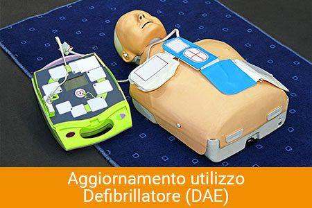 aggiornamento defibrillatore