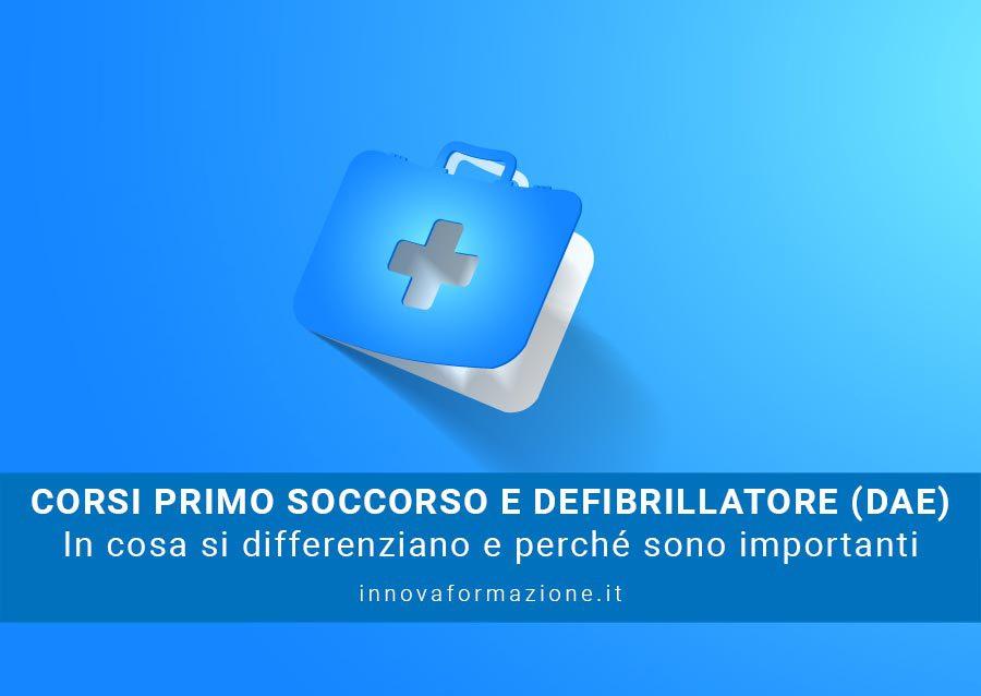 corso primo soccorso defibrillatore dae