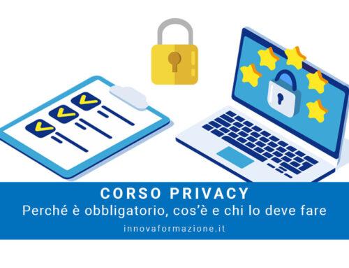 Corso Privacy: perché è obbligatorio, cos'è e chi lo deve fare