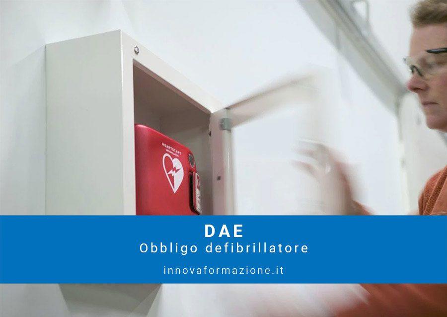 DAE obbligo defibrillatore