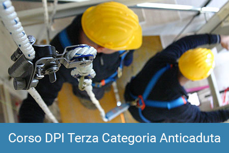 DPI Terza Categoria anticaduta