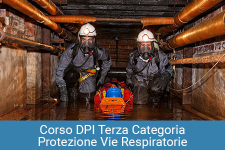 DPI Terza Categoria vie respiratorie