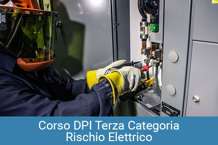 DPI Terza Categoria rischio elettrico