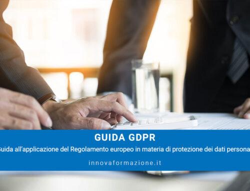 GDPR – guida al nuovo Regolamento Privacy