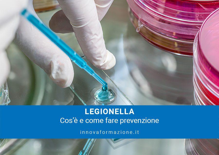 Legionella cosa fare