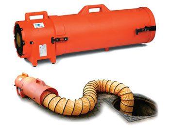 ventilatore lavaggio aria ambienti confinati